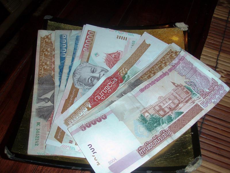 I feel sooooo rich in Laos
