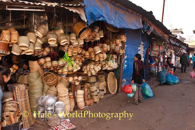 Duangchan Shopping For More Khong Kao (Woven containers to store and serve cooked rice)
