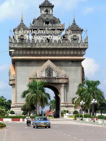 Vientiane - Victory Monument (Patuxai)