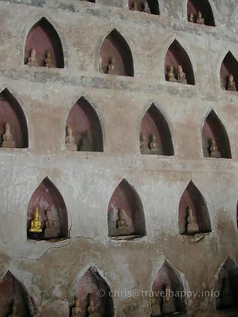 Wat Sisaket, Vientiane, Laos 2003
