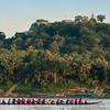 Dragon boat on Mekong River, Luang Prabang, Laos