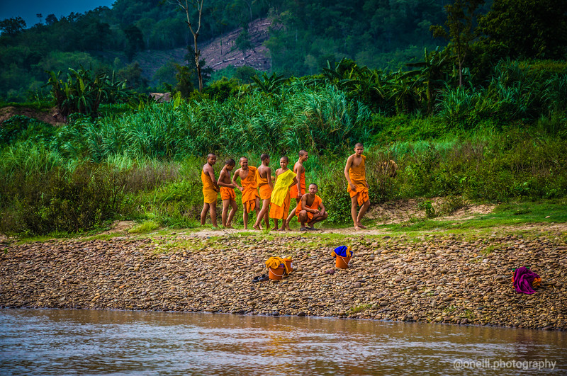 Monks on the Meekong