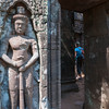Temple at Wat Phu Chamapsak, Laos.