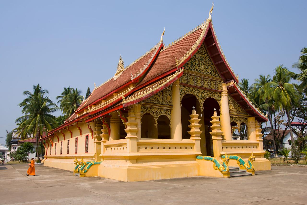 Wat Ong Teu. Vientiane.