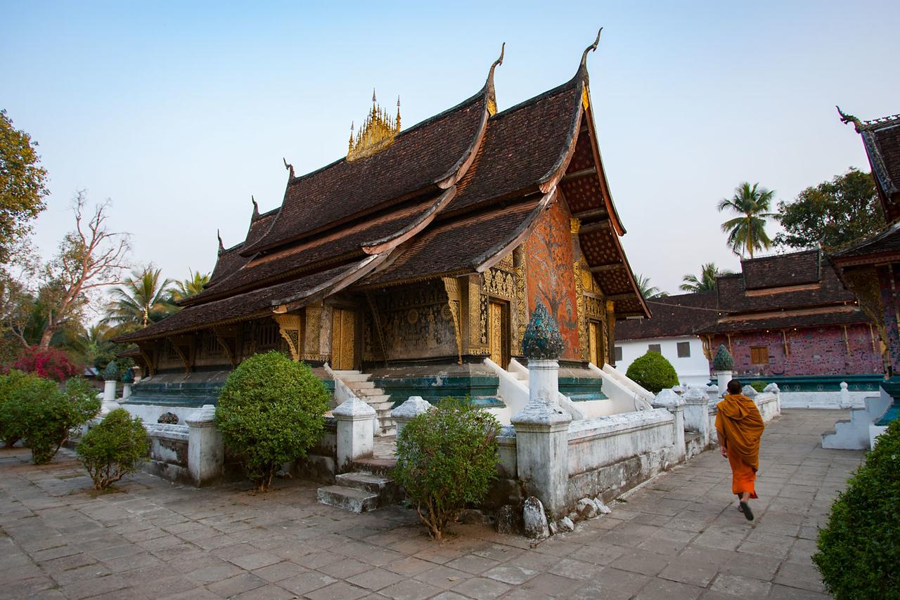 Wat Xieng Thong. Luang Prabang.