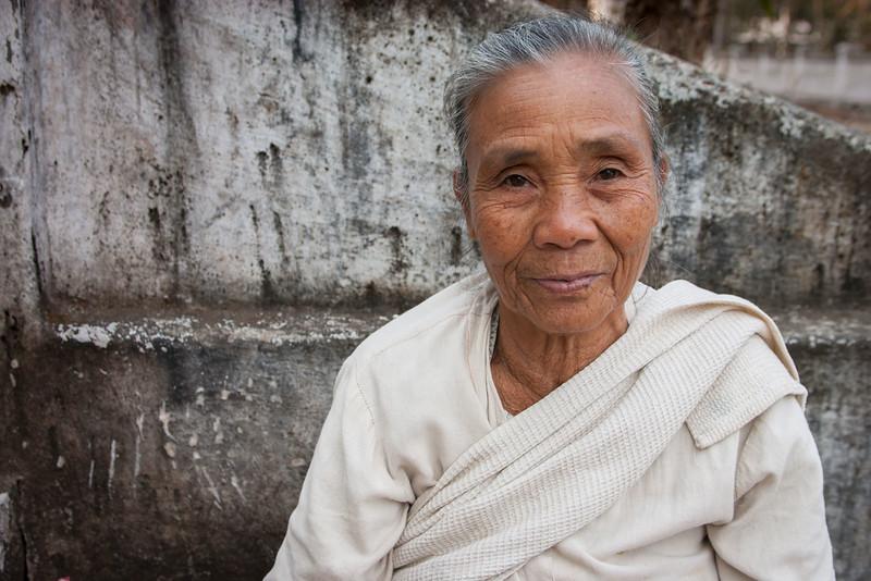 Lady. Luang Prabang.