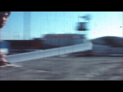 from Lapping Loop 100 frames of super-8 film x 5; 1992