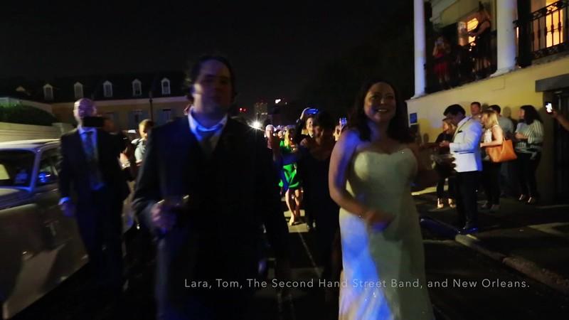 Lara and Tom