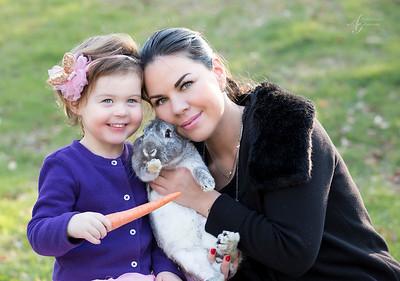 lara and bunny