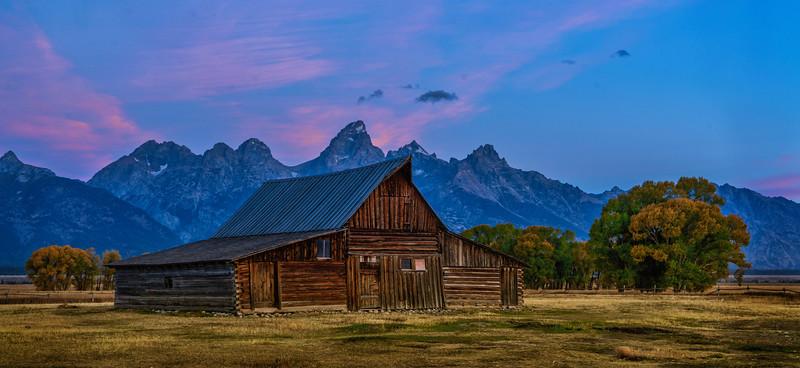 Old Mormon Barn, Grand Teton National Park
