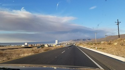 XE2SI on way back from Ensenada late afternoon
