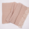 Mohair and Silk Wrap- blush pink