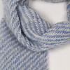 Mohair scarf- french blue