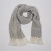 Mohair scarf- fog gray