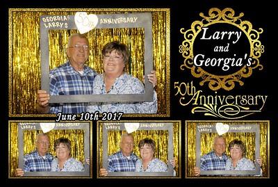 Larry & Georgia's 50th Wedding Anniversary