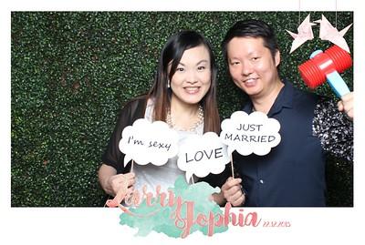 Larry + Jophia Photo Booth Album