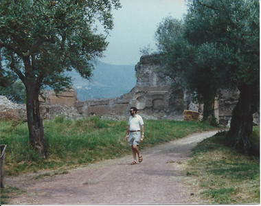 Larry in Rome, 1987