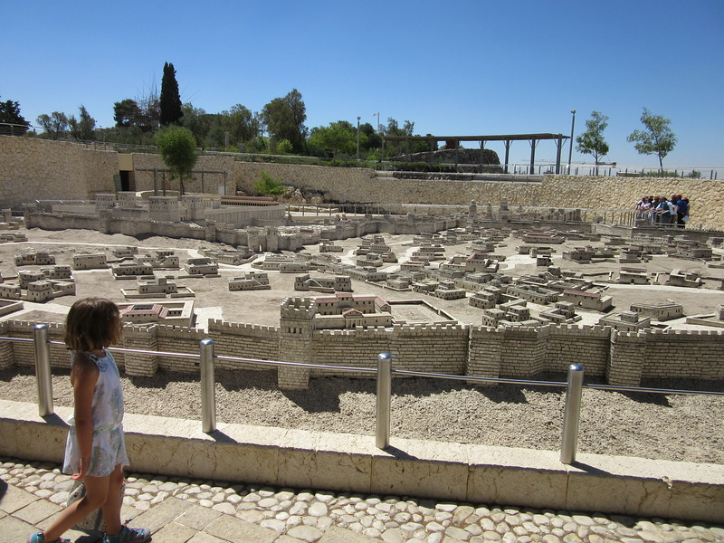 Model of Jesusalem 600 AD