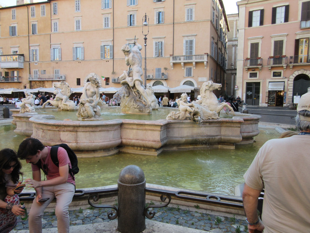 Fountain of the Four Rivers, Piazza Navona