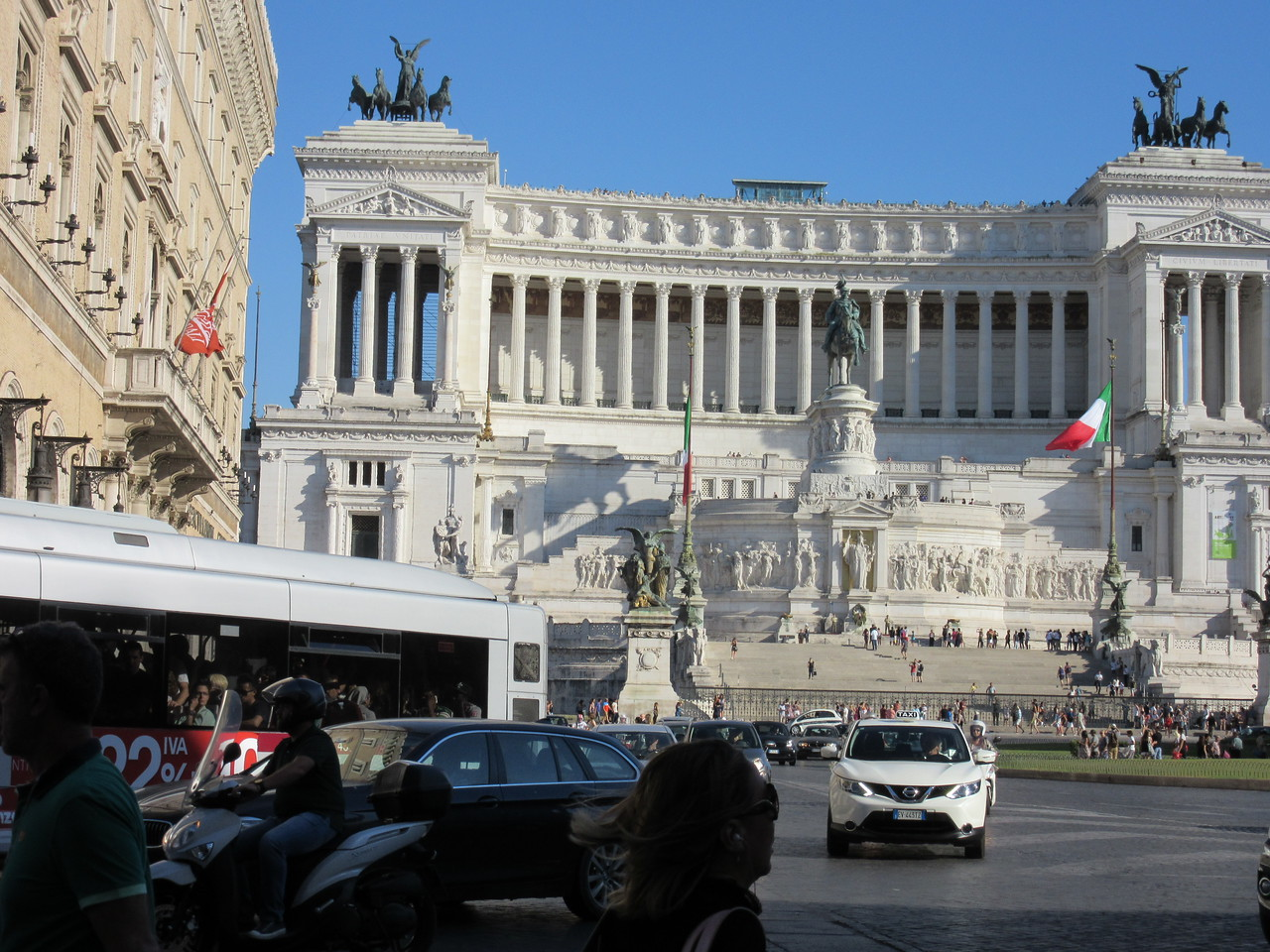 Altare della Patria--Capital of Rome--Altar of the Fatherland