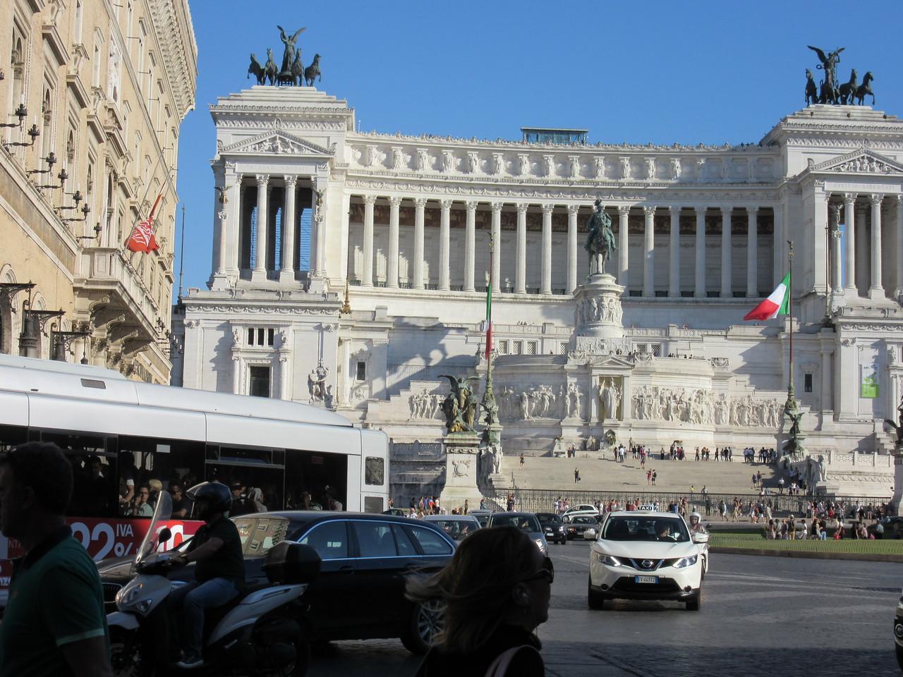 Altare della Patria--Capital of Rome--Altar of the Fatherland