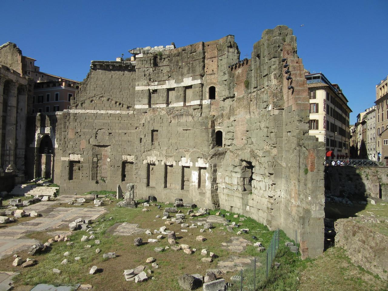 Ruins near our hotel.