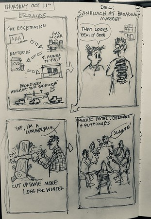 Larry Sketches