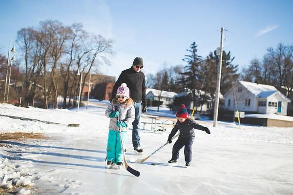 Ice Skating at Boyd