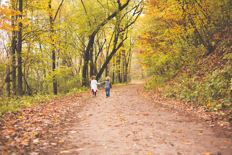 University trail walk 2016