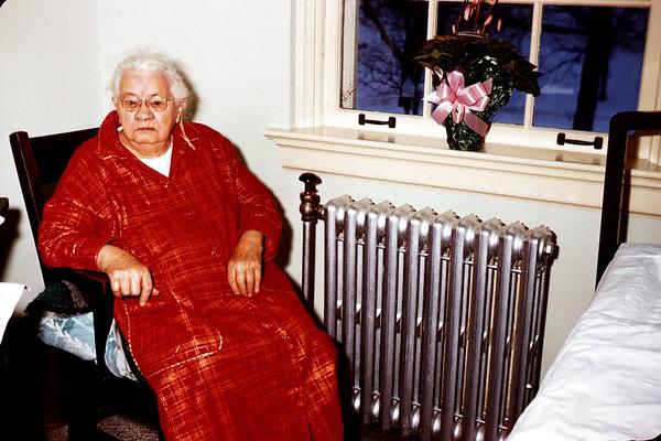 January 1, 1958. Grandma Hoy at age 94.