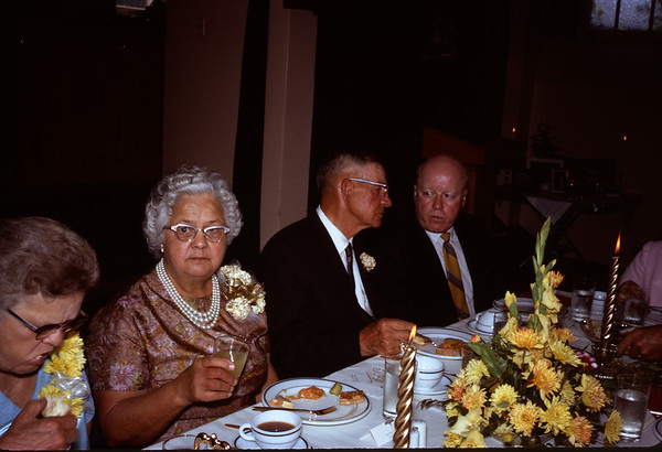 June 28, 1970. Wedding Couple 50th anniversary.