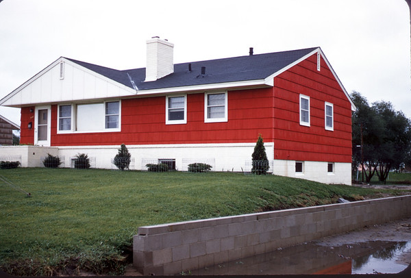 June 22, 1957. Loren Lee House. Minneapolis, MN. Slide 238.