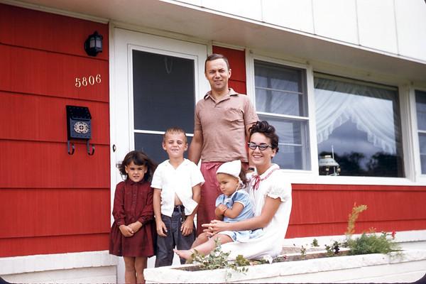 June 23, 1957. Loren Lee Family. Slide 242.
