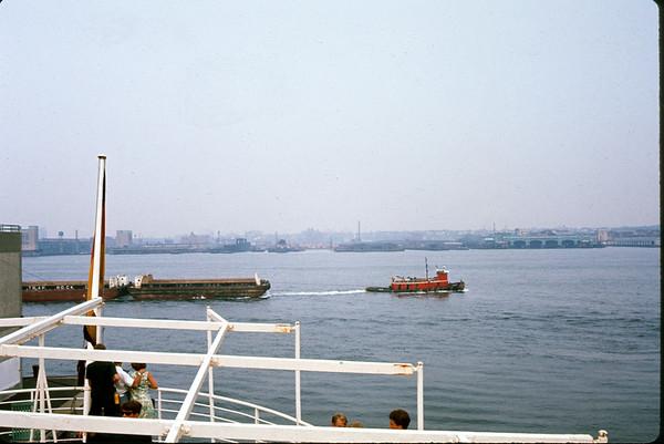 July 29, 1966. New York Harbor. Slide 66-1474.