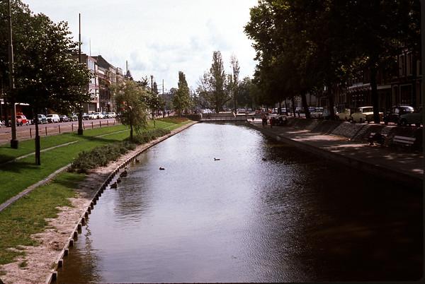 August 1966. Rotterdam. Slide 66-1491.