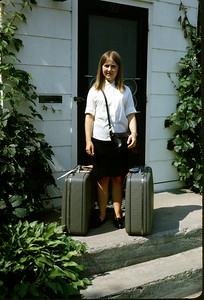 1966 - July 26 - Sig reday to leave for Finland for AFS program.