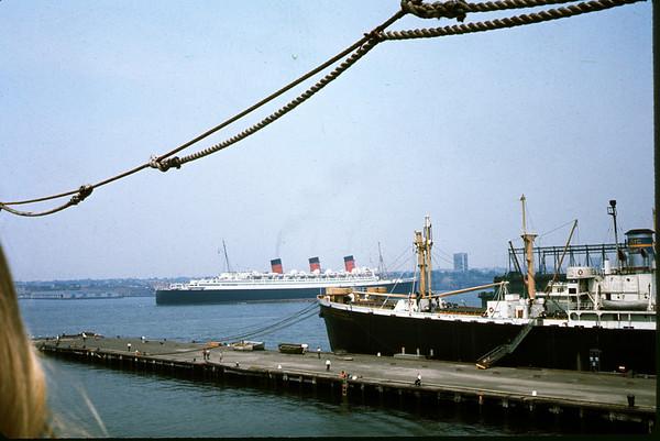 July 29, 1966. New York Harbor. Slide 66-1476.