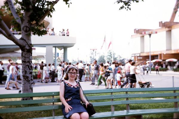 1965 - Sigrid Larson at Worlds Fair - Slide 65-1272.