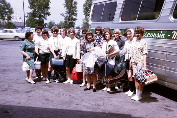 1965 - June 6 - Before departure in Green Bay. Slide 65-1233.