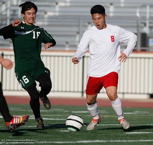 Las Plumas vs Paradise High School soccer
