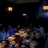 Dining in a private room at Ceasar's Palace, at Joes Seafood & Stone Crab