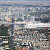 The Strip, from copter