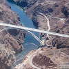 The new bridge near Hoover Dam