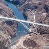 The new bridge near Hoover Dam