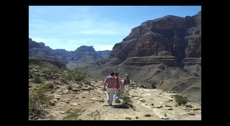 360 deg video pan taken from inside the Grand Canyon.