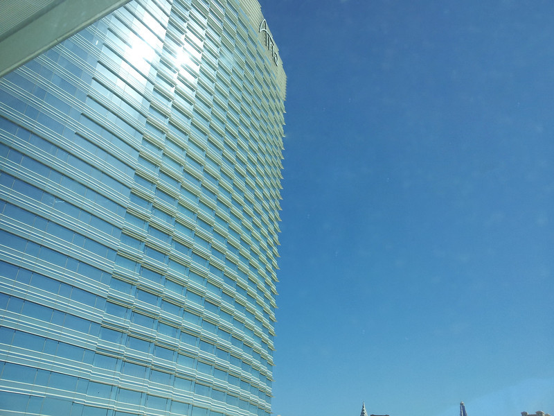 The Aria from the pool