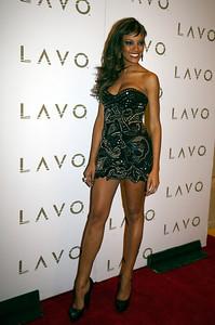 Supermodel and Victoria's Secret Angel Selita Ebanks Hosts at LAVO