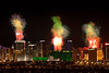 Vegas Fireworks, the start of the show