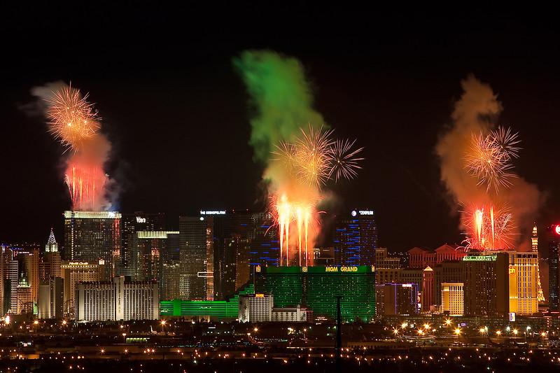 Smoke and Fire in Vegas