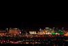 The Vegas Strip seconds before the Fireworks Show
